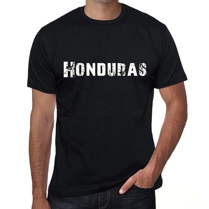 One in the City Honduras Hombre Camiseta Negro Regalo De Cumpleaños 00550: Amazon.es: Ropa y accesorios