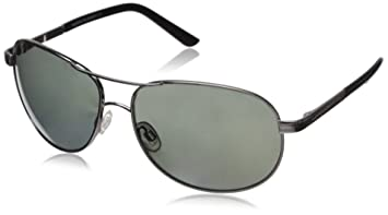 2f18ac25180 Suncloud Aviator Polarised Sunglasses - Gunmetal ~ Grey - One Size ...