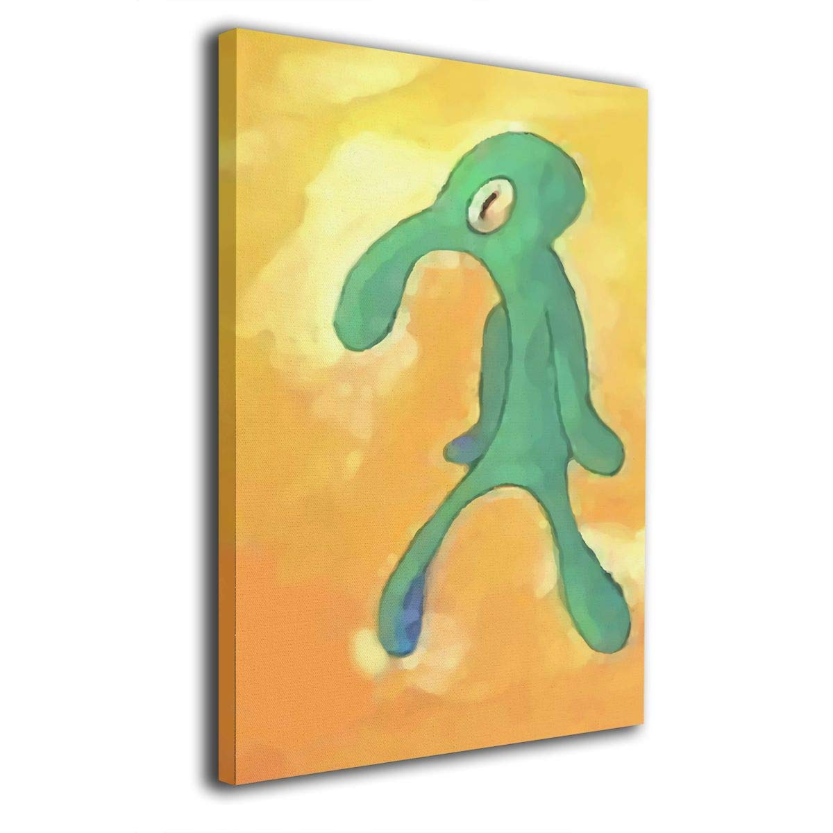 Amazon.com: Colla Old Bold And Brash Squidward Art Artic None Frame ...
