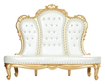 Astonishing Amazon Com Beatrice Royal Love Seat Throne Queen King Dailytribune Chair Design For Home Dailytribuneorg