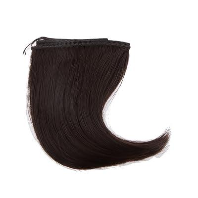 15x100cm DIY Poupée Perruque Welf Cheveux Postiches pour 1/3 1/4 BJD SD Dolls - Marron, 15 x 100cm