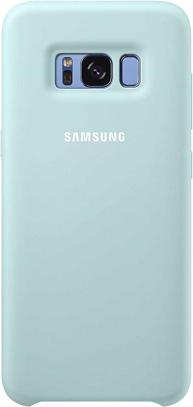 Samsung Dream Silicone Cover, Funda para smartphone Samsung Galaxy S8, Azul: Amazon.es: Electrónica