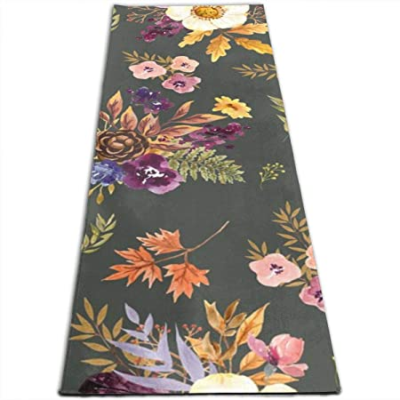 IconSymbol Fall Friends Floral - Olive Yoga Design Foldable ...