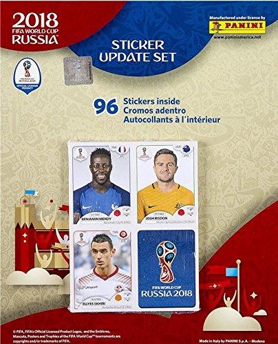 013783ad6 Amazon.com   Panini World Cup 2018 Update Set 96 Stickers   Sports ...
