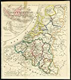 Antique Print-BELGIUM-NETHERLANDS-COLONIES-INDIES-Lesage-ca. 1827