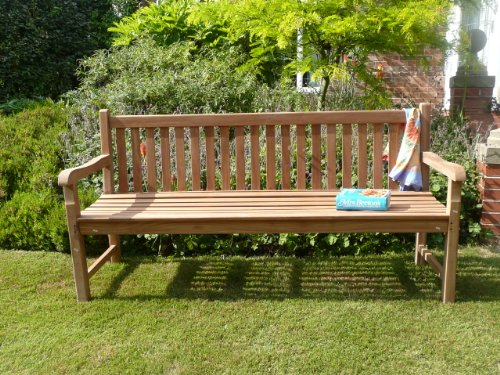 Humber Imports Grade A Teak Classic 1.8m Windsor Park Bench Amazon.co.uk  Garden & Outdoors