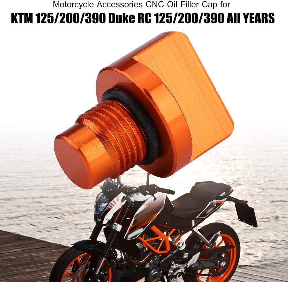 Zubeh/ör CNC-/Öleinf/ülldeckel f/ür 125//200//390 Duke RC 125//200//390 Alle JAHRE EBTOOLS Motorrad-/Öleinf/ülldeckel
