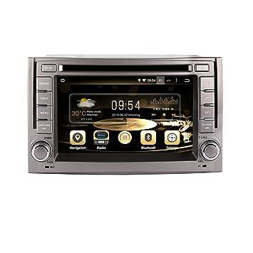 Reproductor de CD y DVD estéreo para coche con GPS Navigation Android 7.1 en la radio