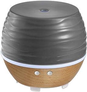 Ellia Ascend Ultrasonic Aroma Diffuser and Essential Oil Starter Kit Gray, ARM-535TGY