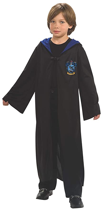Amazon Com Harry Potter Child S Ravenclaw Robe One Color Large