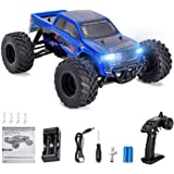 Distianert 1:12 Scale 4WD RTR Rock Crawler Electric RC Car with 2.4GHz Radio Remote Control High Speed 25MPH Best RC Buggy for On-Road and Off-Road Racing Rock Crawling