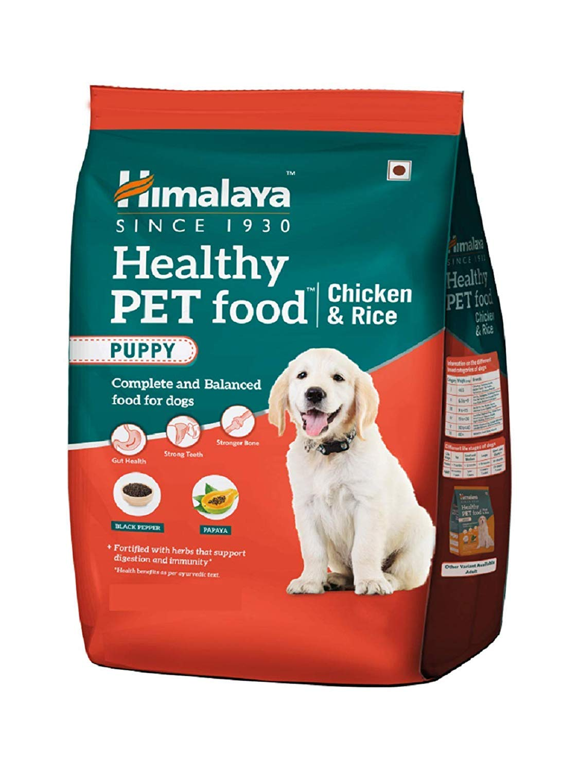 AquaNature Himalaya Healthy Chicken and Rice Puppy Pet Food, 3 kg (B07TK2P2KJ) Amazon Price History, Amazon Price Tracker