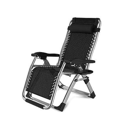 Amazon.com: Silla reclinable plegable para patio, playa ...