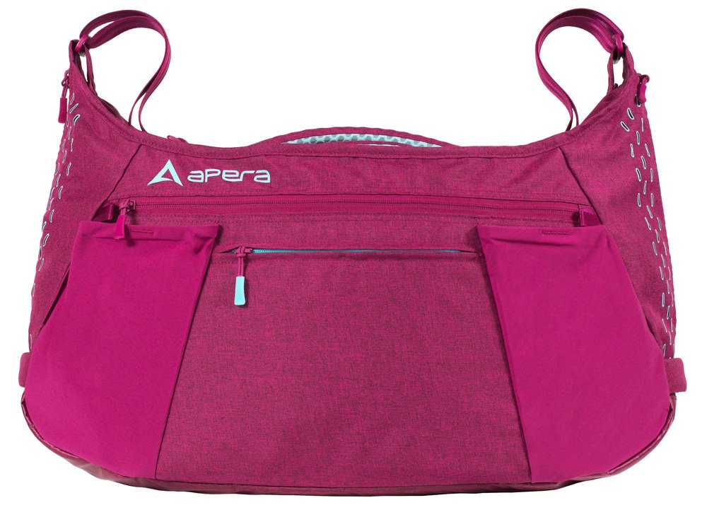 Apera Performance Duffel Bag, Powerberry