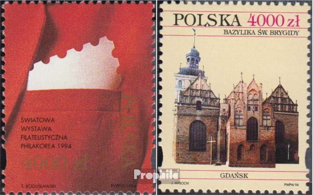 Prophila Collection Polonia Michel.-No..: 3501,3502 (Completa.edición.) 1994 filatelia, Basílica (Sellos para los coleccionistas): Amazon.es: Juguetes y juegos