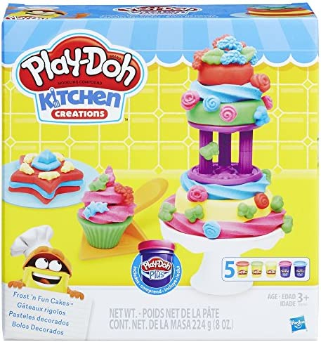 Play Doh Kitchen Creations Frost Cakes product image