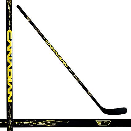 Amazon Com Canadian Black Max Smu Composite Senior Hockey Stick