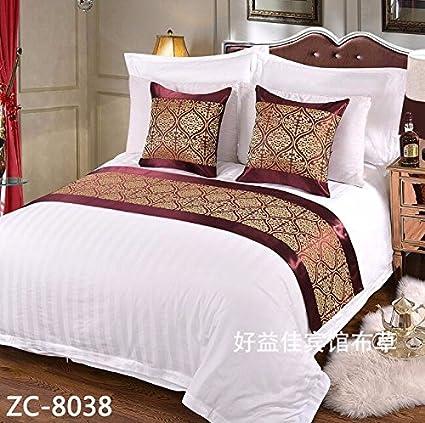 Ropa de cama cama Cama toalla gaestgiveriet hotel cama cubierta de colchon mesa bandera BANDERA,