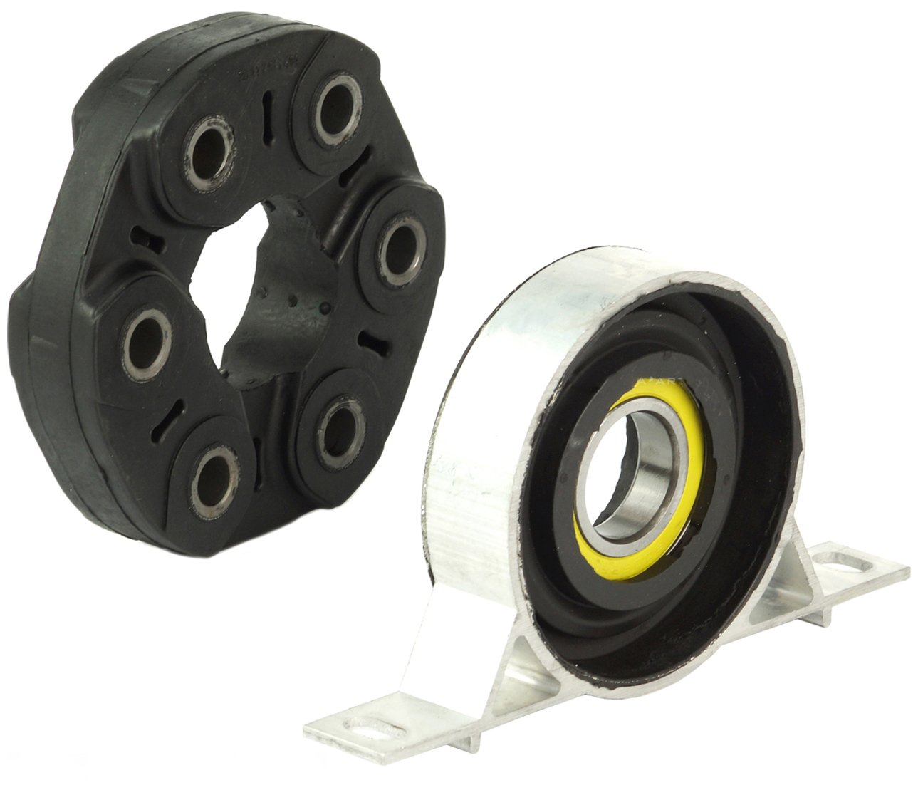 Bapmic Driveshaft Flex Disc Joint and Center Support Bearing for BMW E46 E90 E91 F10 F11 E85 Z4 by Bapmic