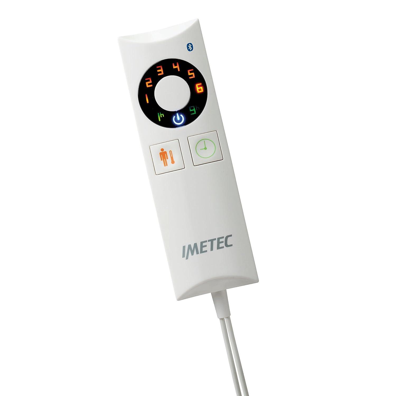 Imetec Relaxy Intellisense Remote, manta eléctrica con Bluetooth, 180 x 140 cm.: Amazon.es: Salud y cuidado personal