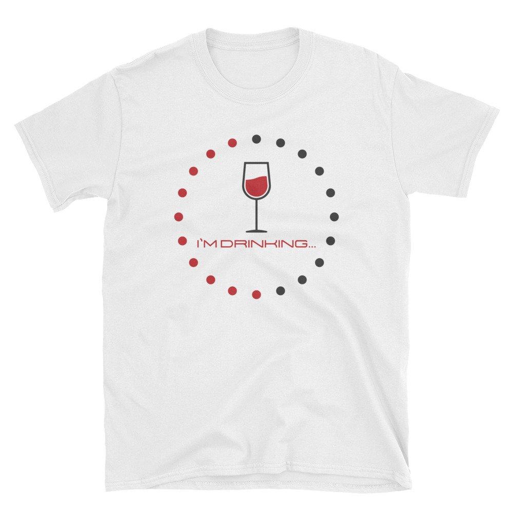 Ziloda Tees Funny I/'m Drinking Hobby Hilarious Gift Unisex T-Shirt