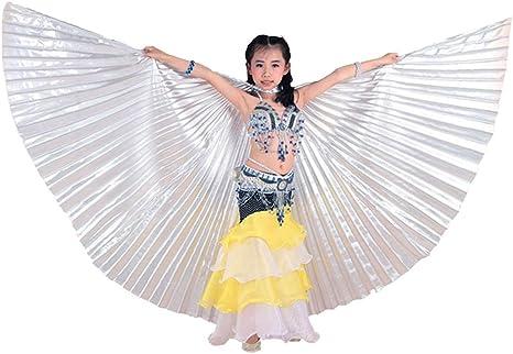 Zhhlinyuan 360 Grados Alas de Danza del Vientre Trajes de la Etapa ...