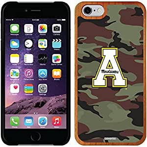 Coveroo iphone 6 4.7 Madera Wood Thinshield Case with Appalachian State Traditional Camo Design