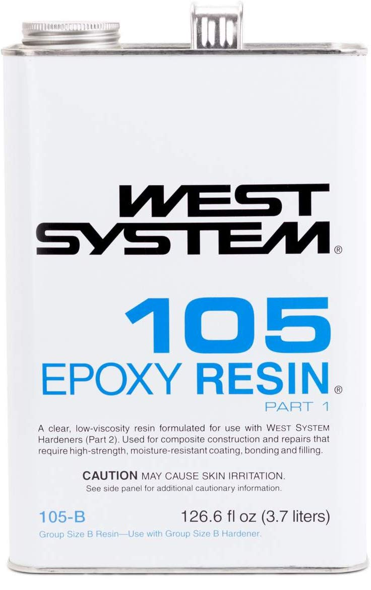 WEST SYSTEM 105 Epoxy Resin (.98Gallon 10.3-Pounds) by West System