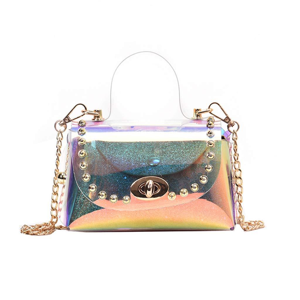 Fashionhe Shoulder Bags Crossbody Bag Women Messenger Bag Fashion Small Square Bag Cosmetic Bag Handbag (Multicolor)