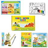 Einstein Box for 3 year olds (Learning and educational games, books and puzzles for 3 year old boys and girls - Birthday gifts and toys for baby, children)