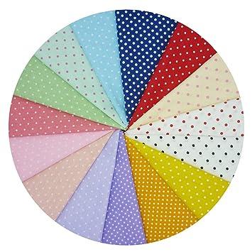15 piezas grandes 40 cm x 50 cm patrón de puntos tela de ...