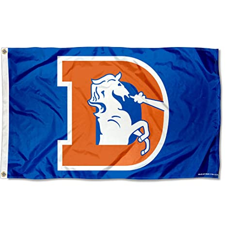 Image Unavailable. Image not available for. Color  WinCraft Denver Broncos  Throwback Flag and Banner 4823a4274