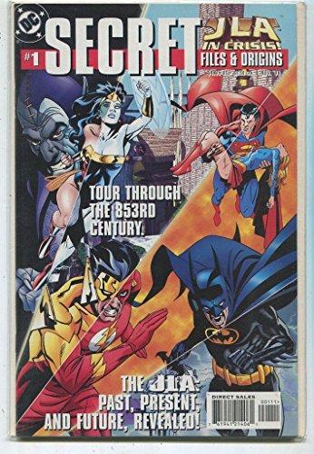 Presents Jla (Secret #1 JLA Past,Present,Future Revealed DC Comics Near Mint CBX35)