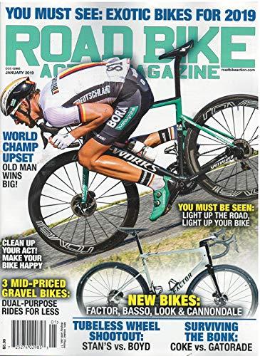 Road Bike Action Magazine January 2019 Exotic Bikes for 2019