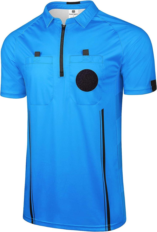 FitsT4 Pro Soccer Short Sleeve Referee Jersey