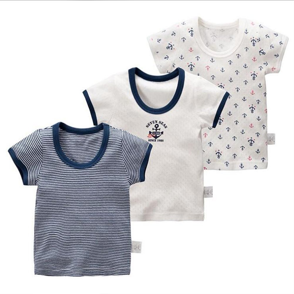 Coodebear Baby Boys' Girls' Infant Toddlers 100% Cotton Undershirt Tees Tank