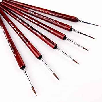 3 Brushes Generous Professional Face Paint Makeup Brush Professional Set 6 A Complete Range Of Specifications