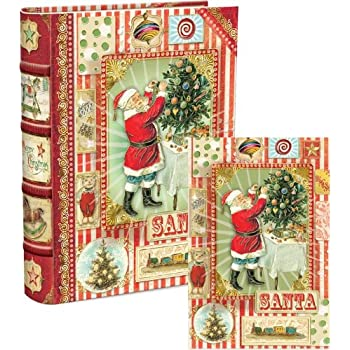 amazon com punch studio santa memories dimensional holiday boxed