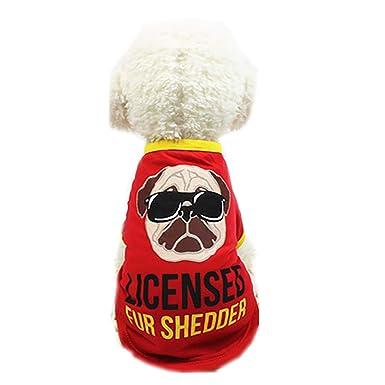 Ropa para Mascotas,Dragon868 Adorable Mascota Perro Camiseta Traje de Cachorro para Perros pequeños: Amazon.es: Ropa y accesorios