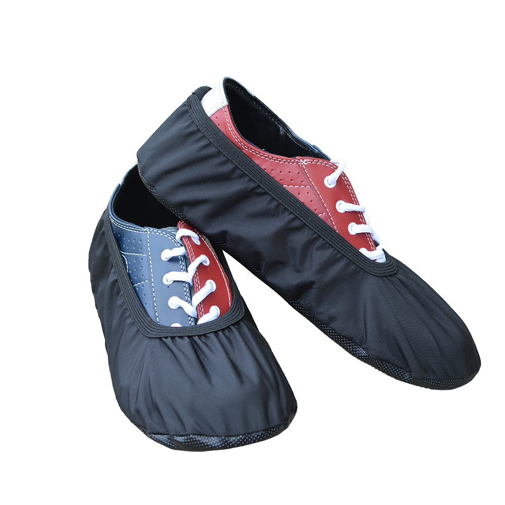 MyShoeCovers Premium Bowling Shoe Covers - Pair, Black, Large by MyShoeCovers
