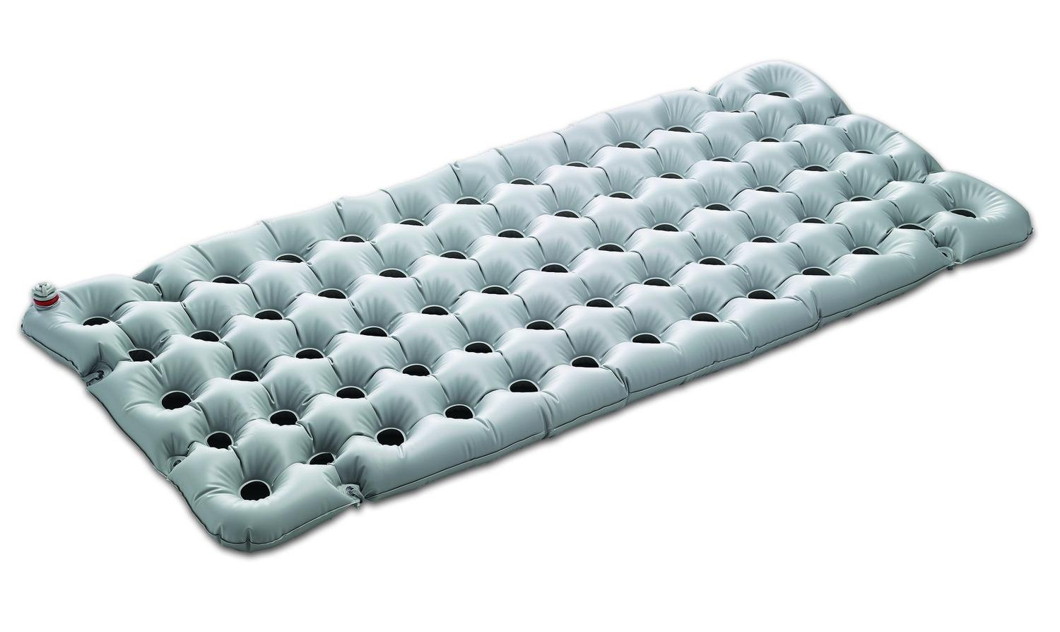 Invacare Air Flotation Mattress Overlay With Manual Pump 76''L x 33''W x 3''H (inflated)