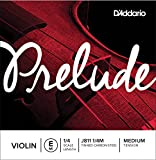 D\'Addario Prelude Violin Single E String, 1/4 Scale, Medium Tension