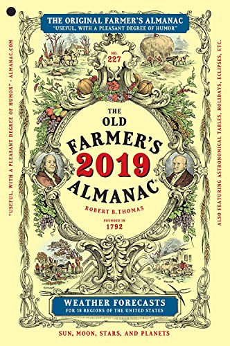 - The Old Farmer's Almanac 2019