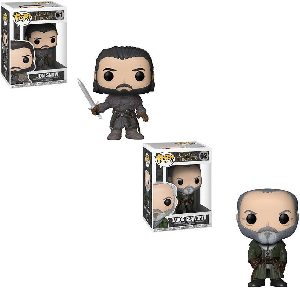 Funko Pop Game of Thrones:Jon Snow Daenerys Vinyl Action Figure Collectible Toys