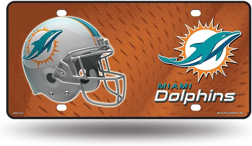 Rico Industries NFL Unisex Metal License Plate Tag
