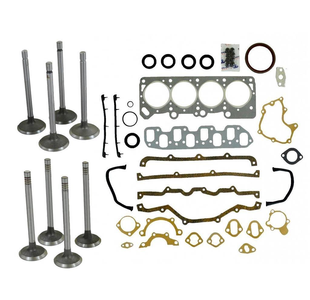Diamond Power Head Set Intake & Exhaust valves works with Chrysler Le Baron 2.2 L SOHC