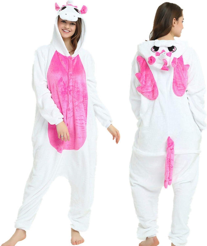 LuckyOne Pijama de unicornio para adultos con diseño de panda ...