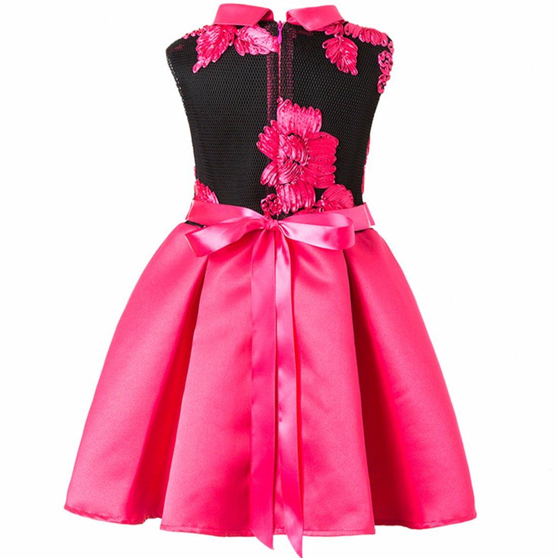 ADHS - Vestido de fiesta 19992 para B01EP01TWS niñas, vestidos de ...