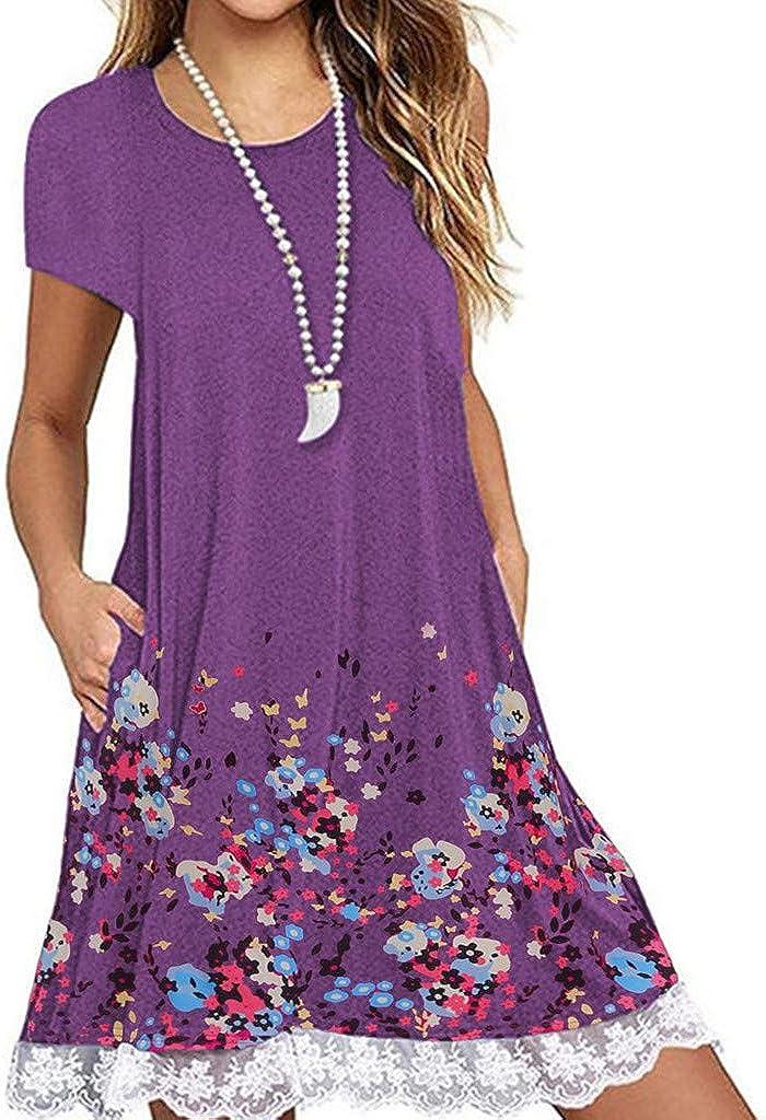 TWGONE Short Sleeve Dresses...