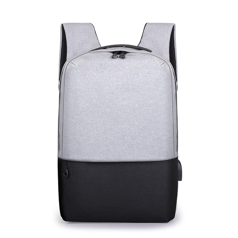 TMEOG Mochila para portátiles, Mochilas Escolares Juveniles,Mochila para Ordenador portátil 14, con USB Puerto de Carga para Hombres y Mujeres, Ligera, ...